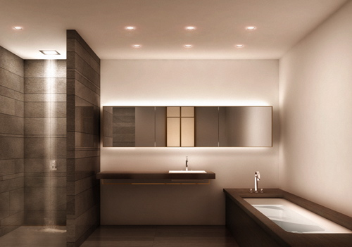Modern Luxury Clean Bathroom