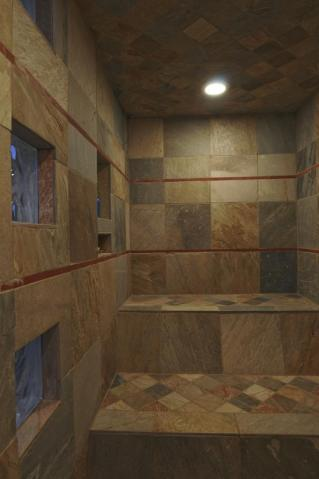 Tile Steam Room