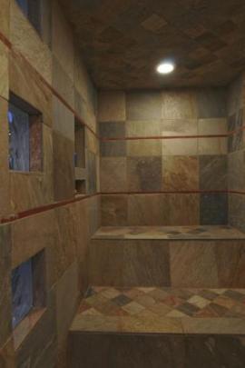 Tile Steam Room