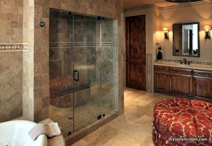 Steam shower reviews designs bathroom remodeling by my for Build steam shower