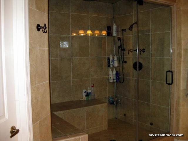 Custom Steam Room Design