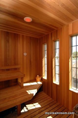 how to build a sauna steam room